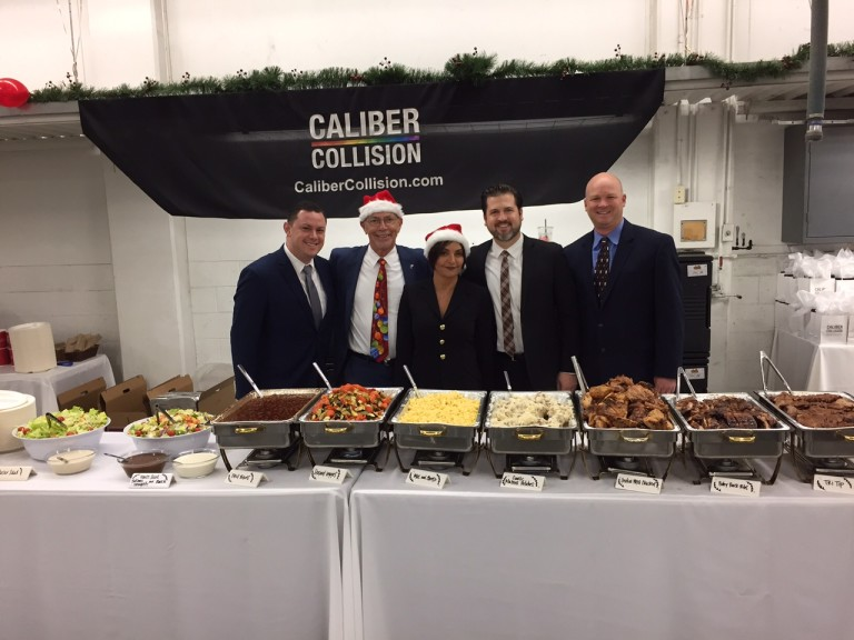 Caliber Collision and Fletcher Jones Team
