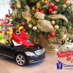 Fletcher Jones Motorcars ad Repair Bear Gives Toys to Concept 7