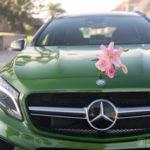 Green Mercedes-Benz Service Clinic