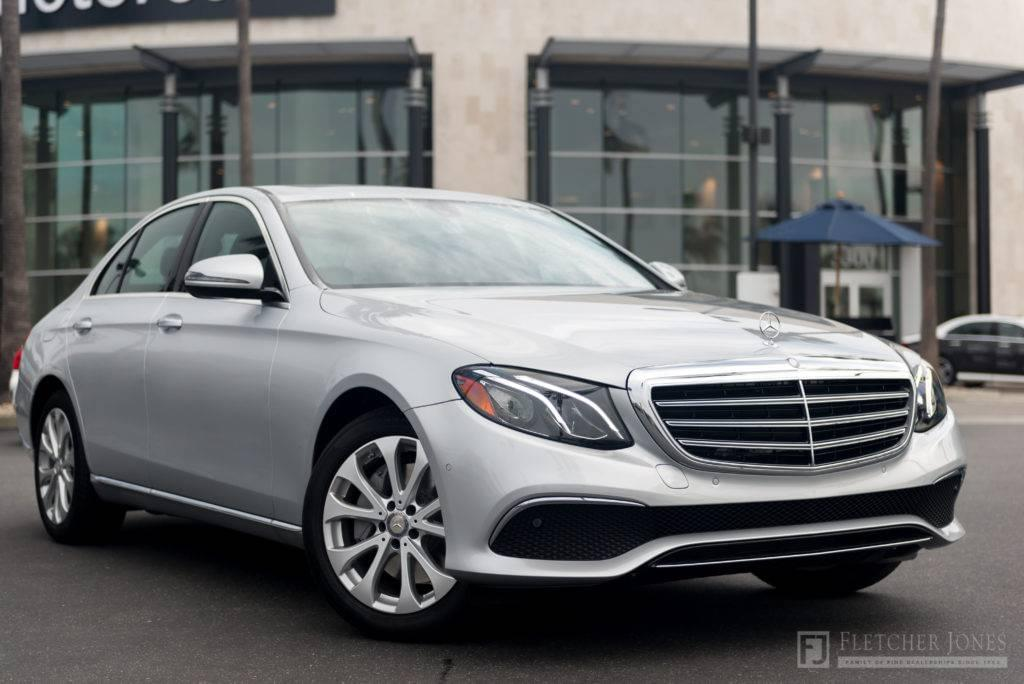 Silver Fletcher Jones Motorcars Newport Beach 2017 Mercedes-Benz E-Class
