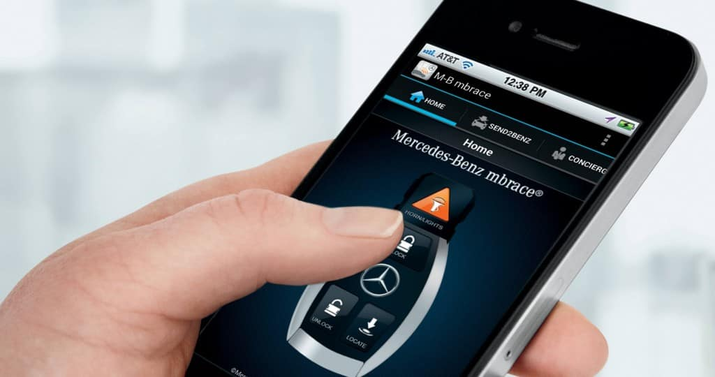 What is the Mercedes-Benz mbrace® App? | Features, Cost ...