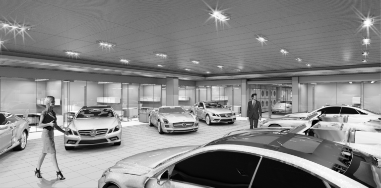 New Car Delivery Center 2