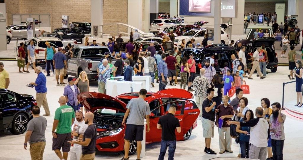Heres How To Get Into The OC Auto Show For Free Fletcher - Auto car show convention center