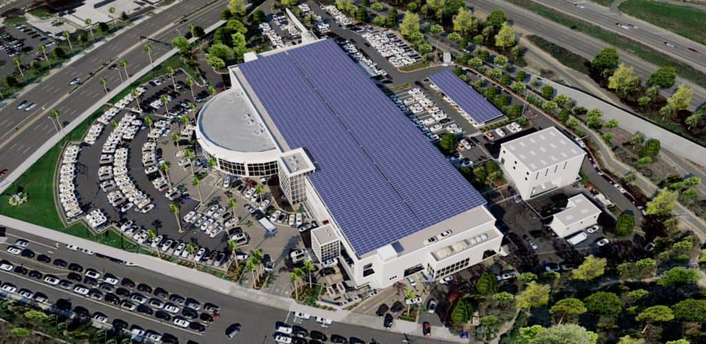 FJ Newport Beach Solar Panels