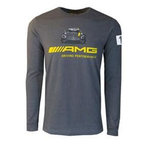 Men's Mercedes-AMG® Stripe Long Sleeve T-Shirt