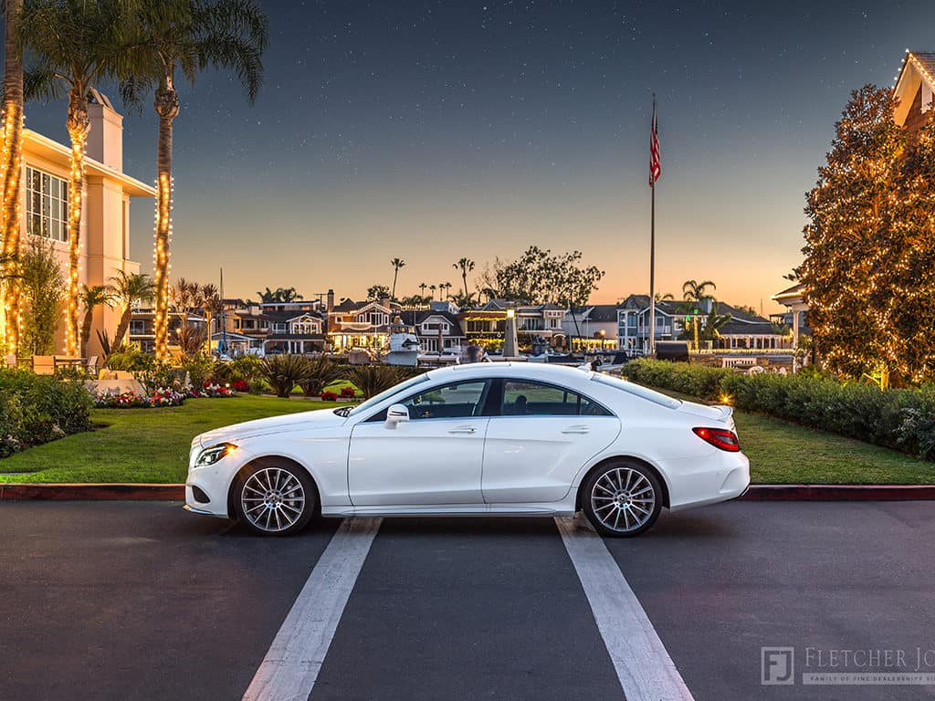 White 2018 Mercedes-Benz CLS Newport Beach