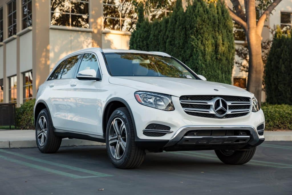 2018 mercedes benz glc wins iihs top safety pick award for Mercedes benz of orange county