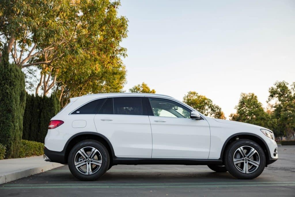 2018 Mercedes-Benz GLC SUV Polar White