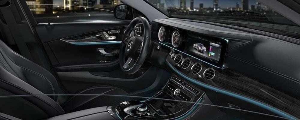 2018 mercedes benz e 300 interior fj motorcars newport beach for Mercedes benz foothill ranch service specials