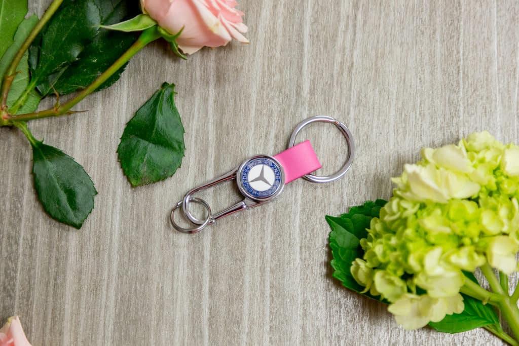 Mercedes-Benz Pink keychain