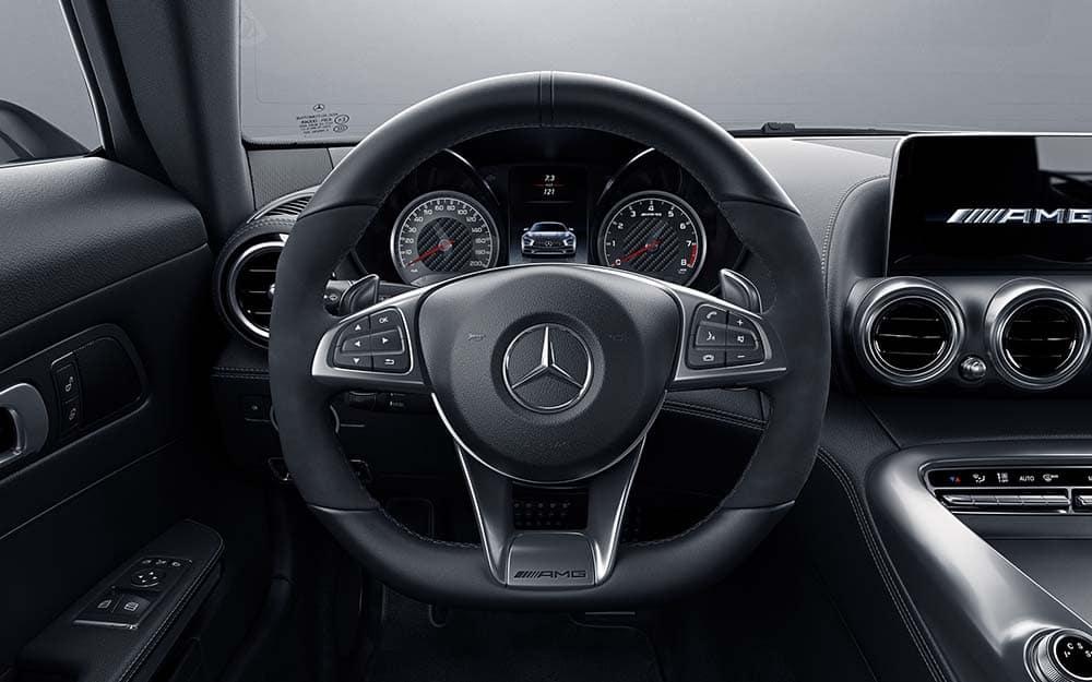 2018 AMG GT Steering Wheel