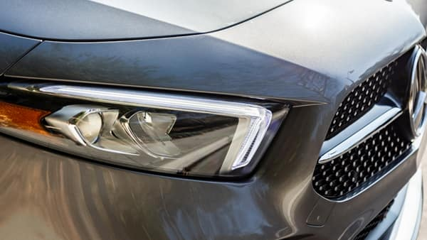 Mercedes-Benz A Class Headlight and Grille