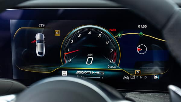 Mercedes-AMG® GT 4-door Coupe Dash