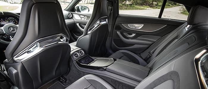 GT 4-door Coupe Interior