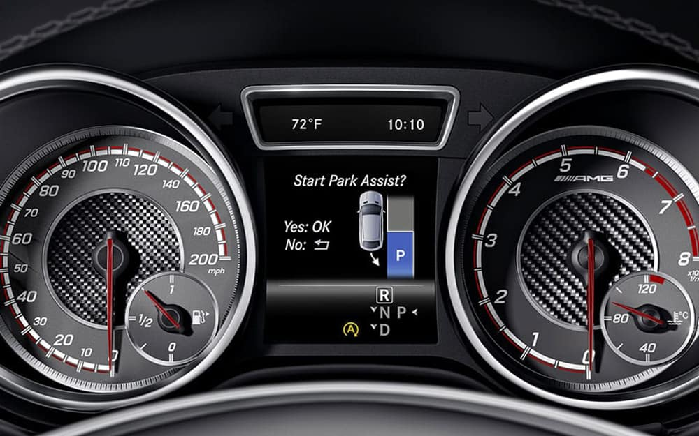 Mercedes-AMG GLE 43 Coupe Attention Assist