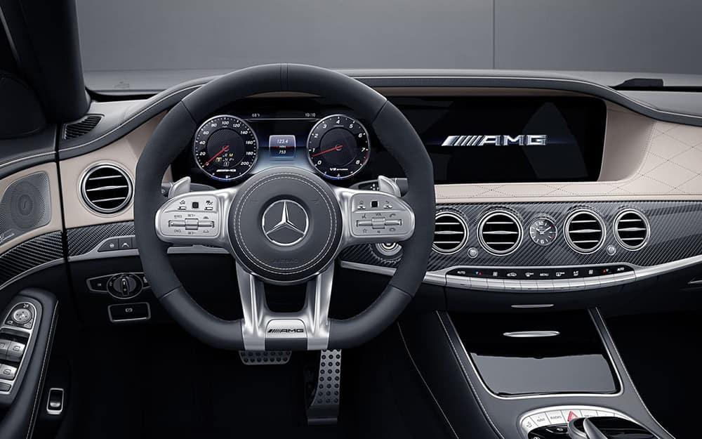 2019 Mercedes-AMG S 63 Interior