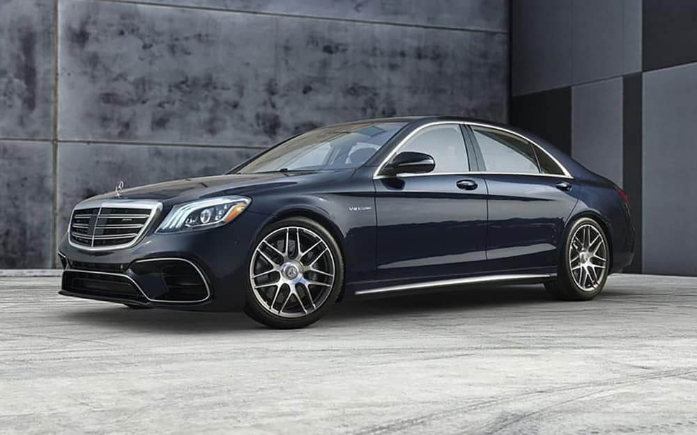 2019 Mercedes-AMG S 63 In Parking Lot