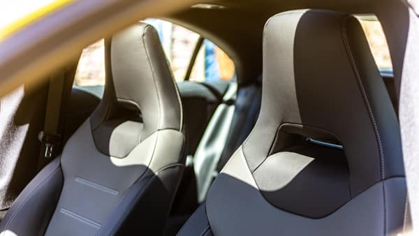 2020 Mercedes-Benz CLA Rear seat