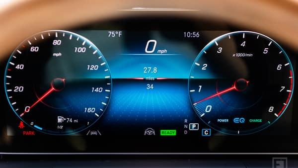 2020 Mercedes-Benz GLS Dash