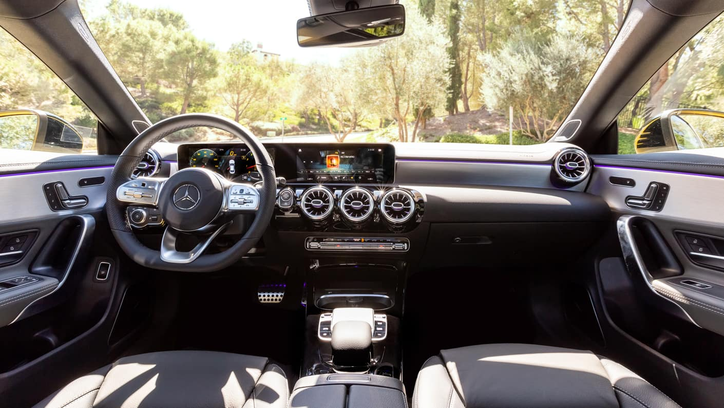 2020 CLA Coupe Interior