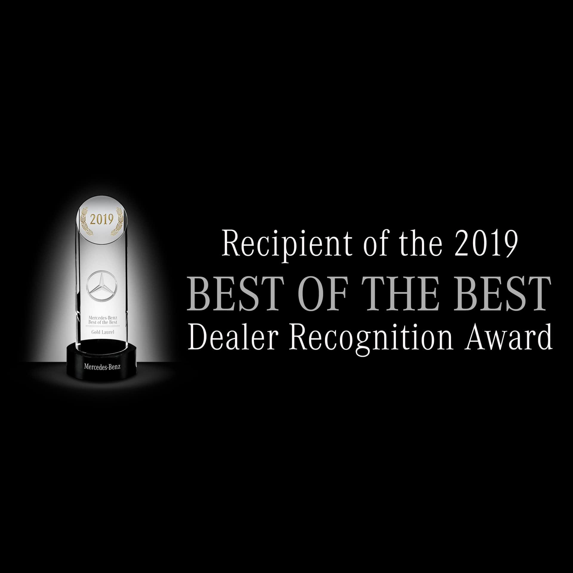"Fletcher Jones Motorcars Accepts 2019 ""Best Of The Best"