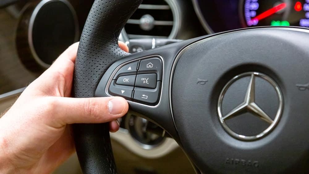 Mercedes-Benz Steering Wheel Buttons