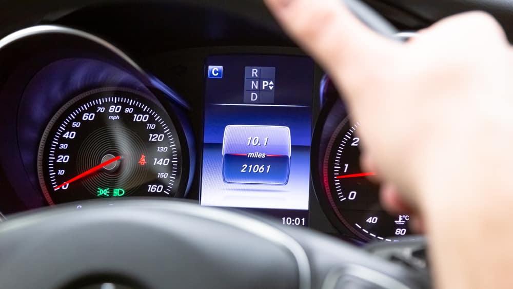 Mercedes-Benz Dash Display