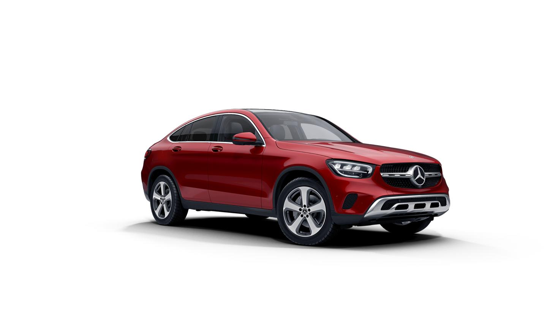 Mercedes-Benz GLC Coupe Designo® Cardinal Red Metallic