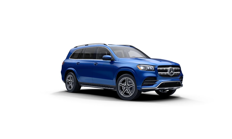 Mercedes-Benz GLS Brilliant Blue Metallic