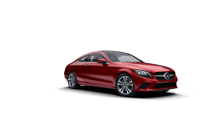 Mercedes-Benz C-Class Coupe Designo Cardinal Red metallic