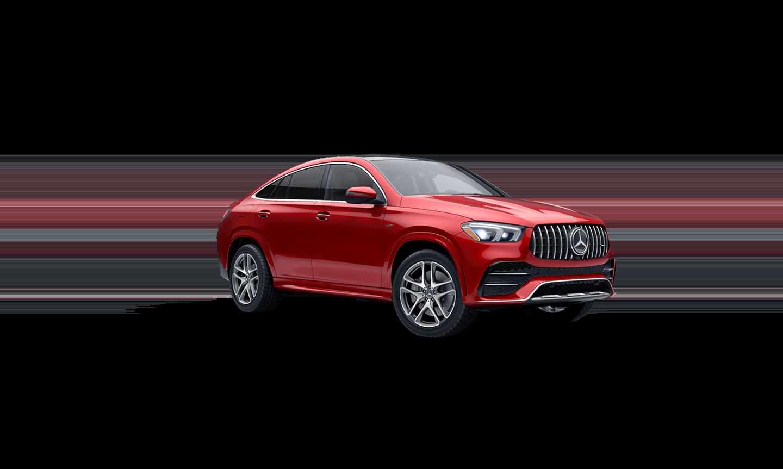 Mercedes-Benz GLE Coupe Designo® Cardinal Red Metallic