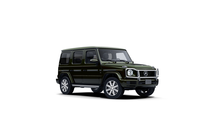 Mercedes-Benz G-Class G manufaktur Olive Metallic