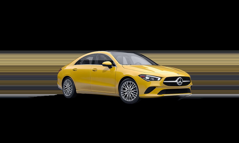 Mercedes-Benz CLA Coupe Sun Yellow