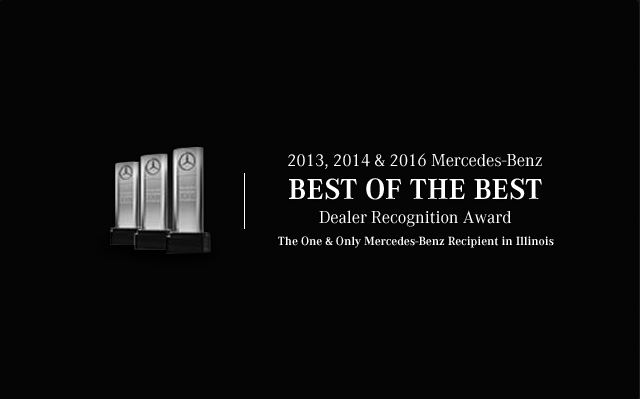 Choose a best of the best award winner mercedes benz of for Mercedes benz chicago dealers
