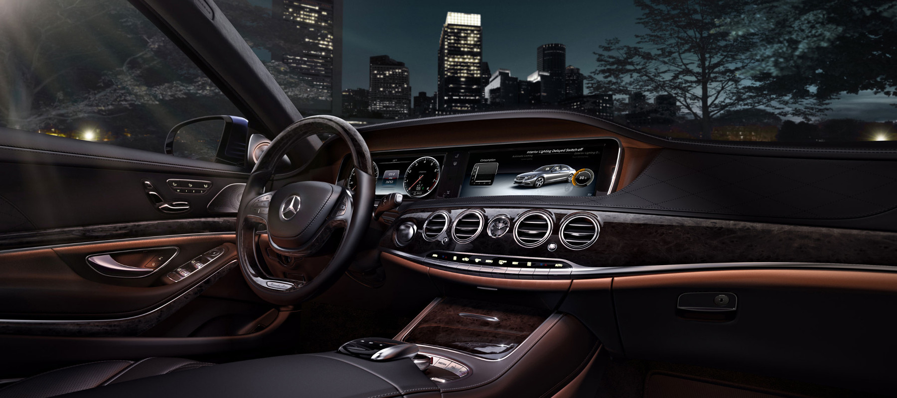 Mercedes benz s550 interior for Inside mercedes benz