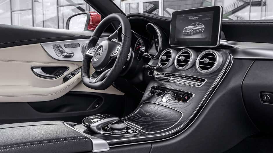 2017 C Class Coupe Interior Mercedes Benz Of Chicago