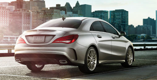 2017 CLA 250 Coupe 4MATIC<sup>®</sup>