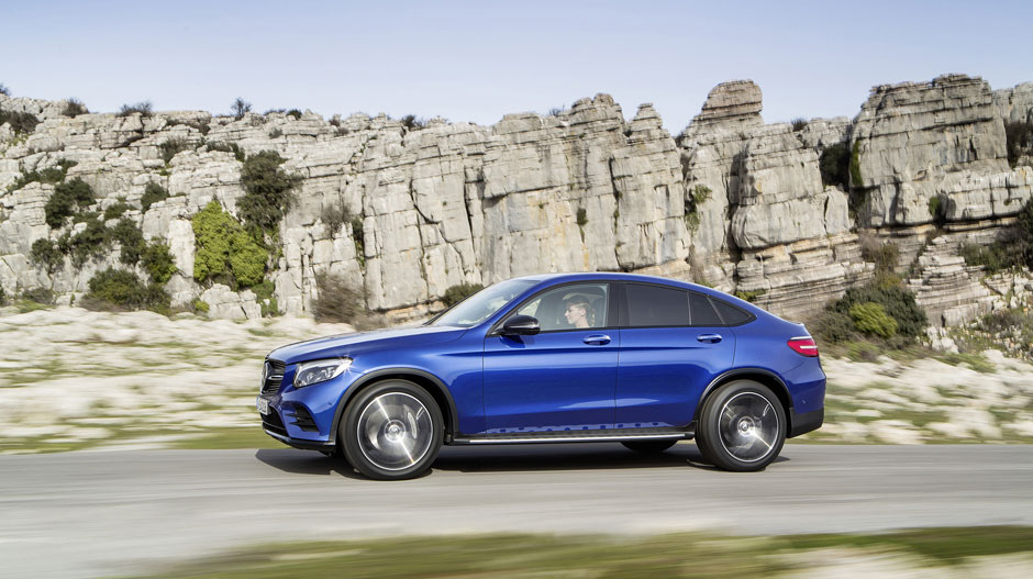 What can you expect from the 2017 mercedes benz glc coupe for Mercedes benz chicago dealers
