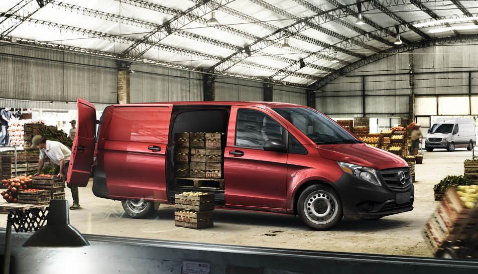 metris first reviews mercedes benz work sprinter to the vans and putting van drive