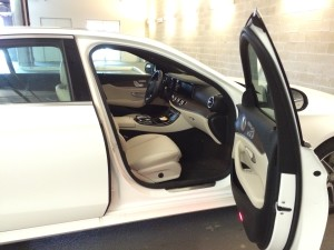 White E300 Door Open