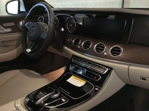 White E300 Interior Dash and Center counsel