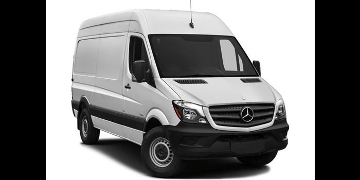 2016 Sprinter Cargo Van 2500 Standard Roof 144