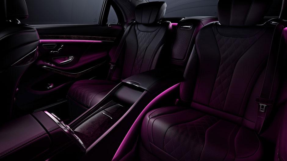 Mercedes s550 interior lighting for Fletcher jones mercedes benz chicago