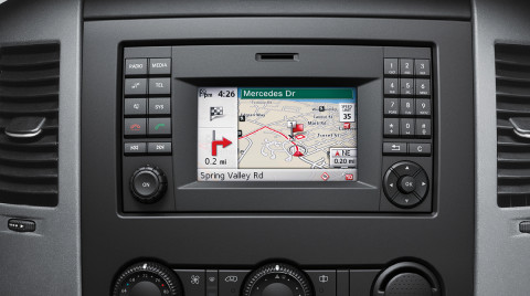 Mercedes Becker Map Pilot MB Sprinter Feature Design 06 Becker MAP PILOT | Mercedes Benz of  Mercedes Becker Map Pilot