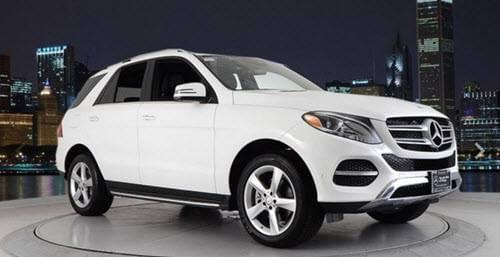 Certified Pre-Owned 2017 GLE 350 4MATIC<sup>®</sup> AWD SUV