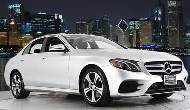 Retired Courtesy 2017 E 300 4MATIC<sup>®</sup> Sport Sedan