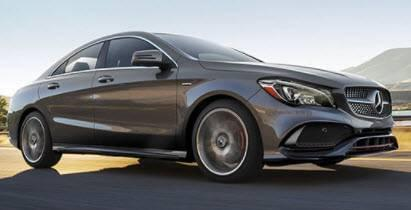 2018 CLA 250 Coupe 4MATIC<sup>®</sup>