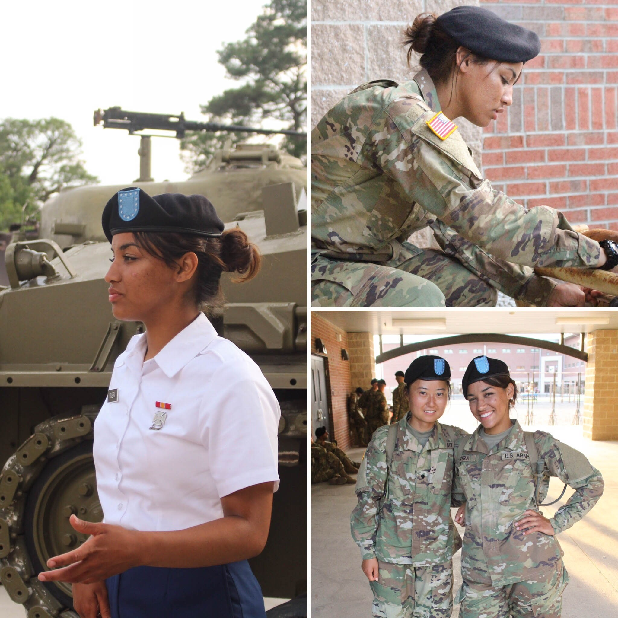 Bernadette Rivera Serving in the Army