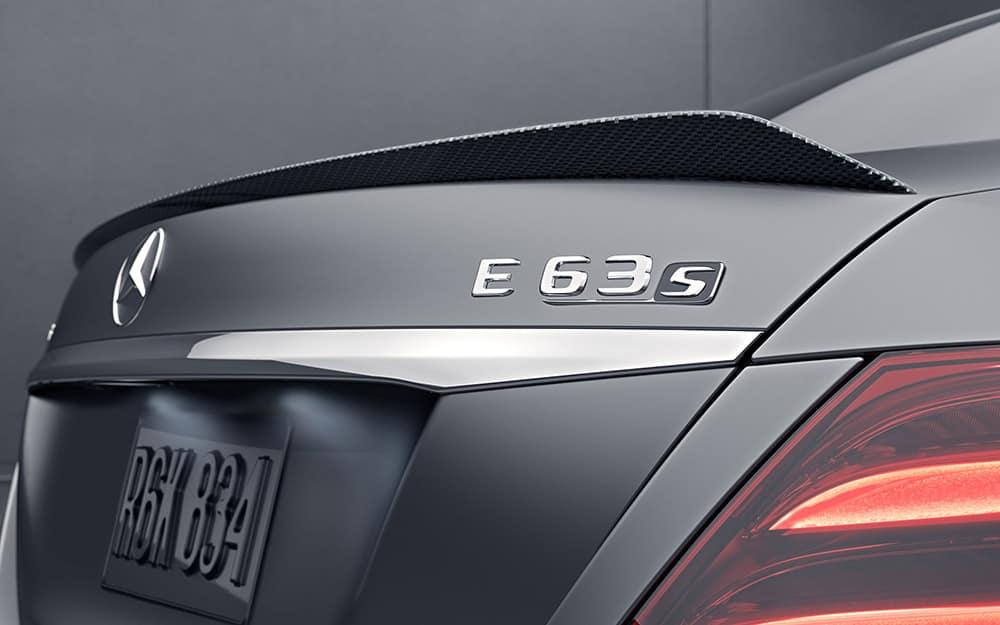 2018 E63 S Badge