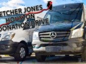 Fletcher Jones Houston Donation Drive